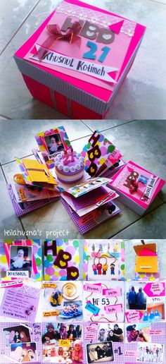 Scrapbox: Birthday Gift