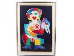 I just discovered this KAREL APPEL (Dutch. 1921-2006) on LiveAuctioneers and wanted to share it with you: www.liveauctioneers.com/item/36267539