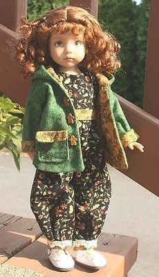Back-to-School-Fall-outfit-for-13-Dianna-Effner-Little-Darling-dolls. Ends 8/30/14. SOLD for $80.00