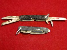266) Two Joseph Rodgers made vintage military style multi-tool pocket knives Est. £20-£30