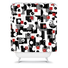 Lisa Argyropoulos Metro Shower Curtain