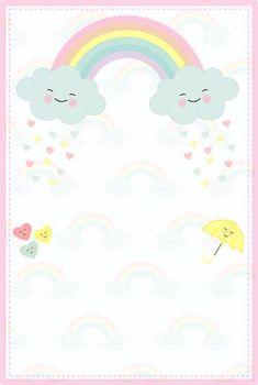 Printables Nail Polish formula x nail polish remover Diy And Crafts, Crafts For Kids, Rainbow Wallpaper, Baby Invitations, Hello Kitty Invitations, Party Decoration, Baby Shower, Rainbow Birthday, Writing Paper