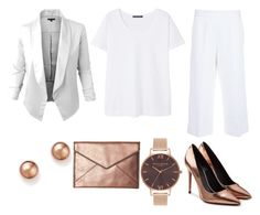 """""""Rose Gold"""" by chicroundcurves on Polyvore featuring Alexander Wang, Rebecca Minkoff, Violeta by Mango, Marni and Bloomingdale's"""