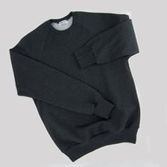 Compose your Heather dark grey Organic Sweatshirt Made in Paris in Organic GOTS cotton sweat Made in France