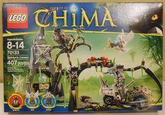 LEGO Chima 70133 Spinlyn's Cavern Set NIB Retired Set #LEGO