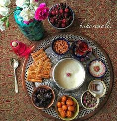 Light Persian #Iftar feast  realiran.org