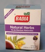Badia Natural Herbs Tea is great for naturally curing headaches, stomachaches, and natural health.  It's also known for preventing certain cancers and other illnesses.