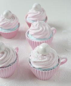 Söta teacupcakesformar från www.klaraform.se