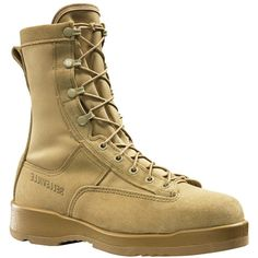 330DESST Belleville Men's Hot Weather Flight Safety Boots - Tan Belleville Boots, Safety Work Boots, Hunting Boots, Health And Safety, Work Wear, Combat Boots, Hot Guys, Safety Footwear, Army
