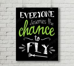 Printable Wicked Broadway Musical Lyrics Chance to Fly Word Art Typography Poster Print 11x14 and 8x10 INSTANT DOWNLOAD by ljcDigitalDesigns on Etsy https://www.etsy.com/listing/280284486/printable-wicked-broadway-musical-lyrics