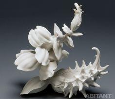 Растение или коралл мастера-керамиста Линдси Феуер (Lindsay Feuer),
