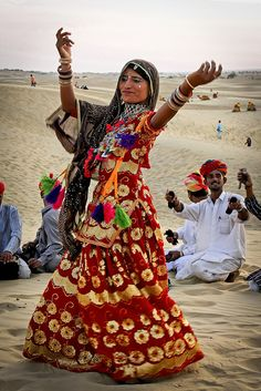 Thar desert - India, by Steven Goethals