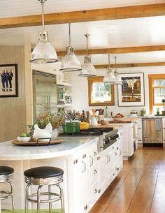 Beautiful Kitchen | Nenaghgal: House Beautiful's Kitchen of the Month - February 2010