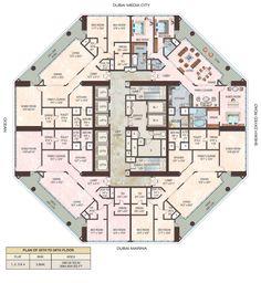 23 Marina Dubai - 35th - 58th Floor :: Hircon International LLC ::