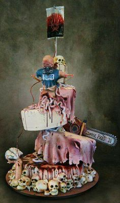 Thats awesome! Zombie cake