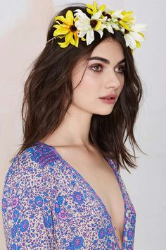 Gardenhead Sunburst Flower Crown - Accessories | Hair + Hats