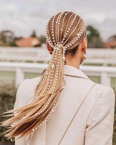 Pretty Hairstyles, Wedding Hairstyles, Wavy Hairstyles, Summer Hairstyles, Avant Garde Hairstyles, Saree Hairstyles, Halloween Hairstyles, Bandana Hairstyles, Elegant Hairstyles