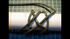How to Tie a Paracord Gaucho Knot (7 Bight) --by isainakazin
