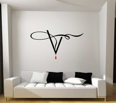 Hey, I found this really awesome Etsy listing at https://www.etsy.com/listing/210584129/the-vampire-diaries-wall-art-decal-mural
