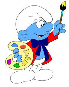 19. Painter Smurf