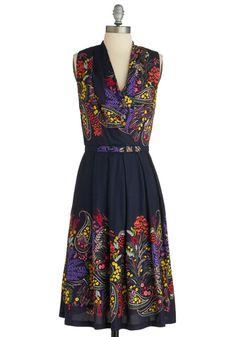 Folklore Me In Dress  #Eva Franco  #ModCloth (wish i had this kind of wardrobe budget!)