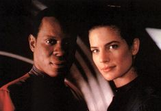 Rare publicity still of DS9's power couple. Well...they always will be to *me*...  http://www.trekcore.com/specials/rare/sisko_dax.jpg