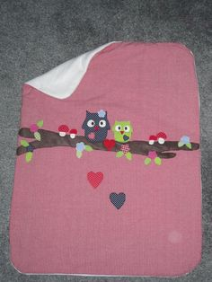 I love owls and want to try appliqué.