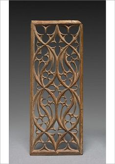 Fine Art Print-Panel, late 1400s. Creator: Unknown-A4 Fine Art Print on 308gsm Paper made in the UK Cathedral Architecture, Gothic Architecture, Architecture Details, Medieval Furniture, Gothic Furniture, Walnut Furniture, Gothic Pattern, Gothic Windows, Medieval Art