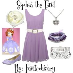 Sophia the First inspired outfit for mommy to wear at the party