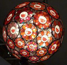 Lamp, sculpture de Takashi Murakami au Château de Versailles