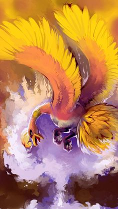 Ho-oh Daily Pokemon Art Board ^^ // Digital // Geek // All Pokemon, Pokemon Fan Art, Cute Pokemon, Oh Oh Pokemon, Pokemon Heart Gold, Digimon, Rayquaza Pokemon, Lugia, Dragons