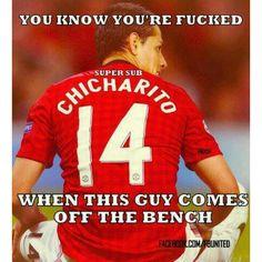 Javier 'Chicharito' Hernandez - Manchester United