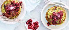 Helpot raejuusto-pinaattiletut Avocado Toast, Eggs, Breakfast, Healthy, Food, Morning Coffee, Eten, Egg, Meals
