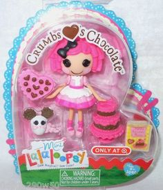 Mini Lalaloopsy - Crumbs Love's Chocolate - Target special Valentine's Edition