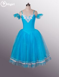 6c61d767de223 Blue Bird Embellished Leotard & Blue Romantic Tutu For Professional  Performance