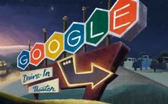 Love Google Doodle's...79th #birthday      Today's Google Doodle is an animated tribute to the first drive-in movie theater, which was opened in New Jersey on June 6, 1933.     An invention of Richard Milton Hollingshead, Jr., the dri