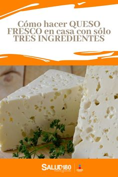 Queso Fresco Recipe, Queso Recipe, How To Make Cheese, Food To Make, Charcuterie, Mexican Food Recipes, Dessert Recipes, Queso Cheese, Colombian Food