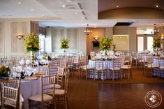 Event center wall color ideas. Keep it light; earth tones. Lighting should be nickel toned to match bar. This is a good example of the importance of architectural accents over a dance floor.