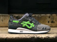 "Ronnie Fieg x Asics Gel Lyte III ""Super Green"" Charity Sole For Souls"