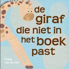 De giraf die niet in het boek past  Boekje op rijm. Groot probleem, leuke oplossing. Aanrader voor 4- jarigen.