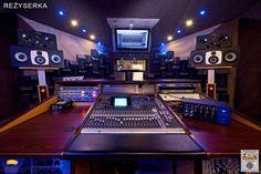 2 x EVE SC408s at Hear Studio in Warsaw, Poland.