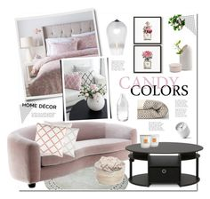 Pastel Pink!♡ by yukotange on Polyvore featuring polyvore, interior, interiors, interior design, home, home decor, interior decorating, Eichholtz, Furinno, Tom Dixon, Surya, Moustache, Menu, Chanel, Tocca and Broste Copenhagen