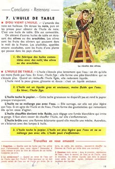 Manuels anciens: Orieux, Everaere, Leçons de choses CE (1952) Medical Mnemonics, Teaching French, France, Biology, Education, Islam, Learn French, French Posters, Textbook
