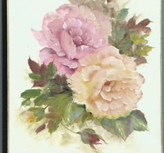 """The Beauty of Oil Painting, Series 1, Episode 8 """"Pink and Yellow Roses"""""""