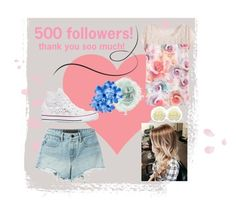 """""""500 followers! thank you soo much!"""" by stylegirl12356 ❤ liked on Polyvore featuring Gucci, T By Alexander Wang, WithChic, Converse and Rock 'N Rose"""