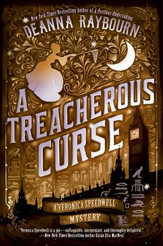 A TREACHEROUS CURSE final cover