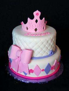 Princess birthday cake ~The Crafty Cakery