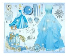 """""""#312 Disney Princess - Cinderella: 12/01/16 (WGC)"""" by pinky-chocolatte ❤ liked on Polyvore featuring Kevin Jewelers, Disney, Marc Jacobs, Exuviance, MAC Cosmetics, Stila, Thalgo and Lime Crime"""
