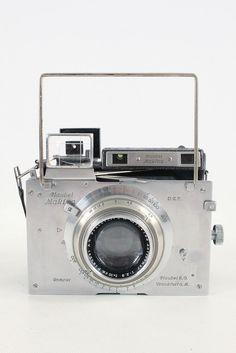 Vintage Plaubel Makina III Camera 100mm f2.9 Anticomar Lens