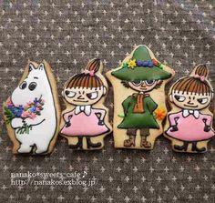 nanako*sweets-cafe♪ ムーミン アイシングクッキー